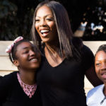 Tiwa Savage hits the spotsligt as she pays charitable visit to young female victims of child trafficking in Johannesburg