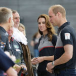 Prince George was 'spoilt' on third birthday during visit to America's Cup with Kate says Prince William