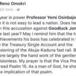 The Two Most Celebrated Achievement by President Buhari Is A Handiwork of Goodluck Jonathan