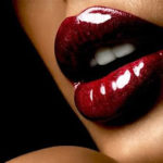 Romance and Fashion: The red lipstick color is naturally associated with romantic