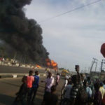 Tragedy: Tanker Conveying Petrol Product Exploded in Lagos