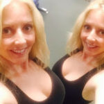 Hot Presenter Carol Vorderman looks incredible as she shares busty selfie without makeup