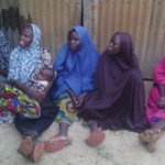 Nigerian Troops rescues 5 women and a baby from Boko Haram after carry out mine and IEDs clearance operation in Borno