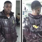 Man caught with cocaine stuck in his jacket at Lagos airport