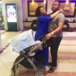 Tonto Dike shared Photo of herself, husband and son
