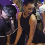 Ibiza Weekender gang go wild as they share steamy kisses, strip off