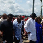 Former President Goodluck Jonathan and Wife spotted at Port Harcourt airport