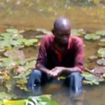 Wizard flying from Benin to UK crashes in Sapele River; blames Buhari (photo)