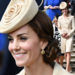 Duchess of Cambridge steps out in a recycled Day Birger coat for garden party