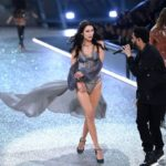 Awkward? Bella Hadid ex never left his eyes on her as she strut down the Victoria Secret's Show runway