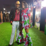 Timi Dakolo and his wife step out dazzling in African style