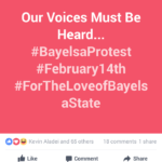 Social: February 14th planned Protest in Bayelsa