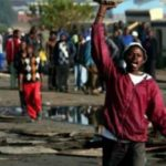 Again? Furious South Africans burnt down houses of Nigerians