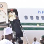 Breaking News: See what happened as Buhari arrived Aso Rock today