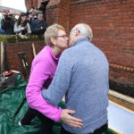 Man is BURIED ALIVE in coffin  after kissing his wife goodbye