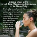 Health Issues: Drinking water may save your life today