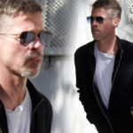 Brad Pitt looks MUCH slimmer in shock new pictures after split from Angelina Jolie
