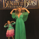 Stunning Beyonce attends Beauty and the Beast premiere with little Blue Ivy