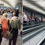 Easter chaos: Brit tourists faint in huge queues at Palma airport after 'increased security checks'