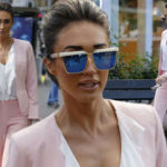 Megan McKenna looks downcast as she returns to TOWIE filming
