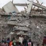 Tragedy: 2 Die As Building Collapses Off Admirality Way, Lekki