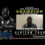Mayweather Storms Nigeria As Part Of His African Tour
