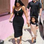 Kim Kardashian puts her curvaceous body on display as she takes daughter North out – SEE PHOTOS