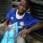 See Photos of suspected Chelsea fan who was caught stealing armored cable in Ilorin
