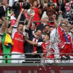 Arsenal won their 13th FA cup; The Action (Photos)