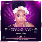 VOTE ADEDE RUTH IN THE NIGERIAN PRINCESS 2017
