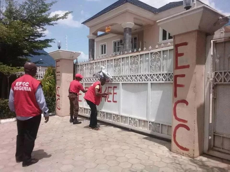EFCC seizes Goodluck's godson George Turnah's second property in Abuja