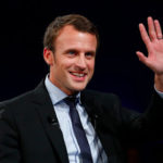 Nigerian Acting President Osinbajo joins other Presidents to congratulate Macron