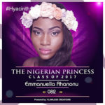 VOTE EMMANUELLA AHANONU IN THE NIGERIAN PRINCESS 2017