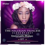 VOTE EMMANUELLA MIEKPO IN THE NIGERIAN PRINCESS 2017