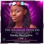 VOTE EZEAKOR MARYCYNTHIA IN THE NIGERIAN PRINCESS 2017