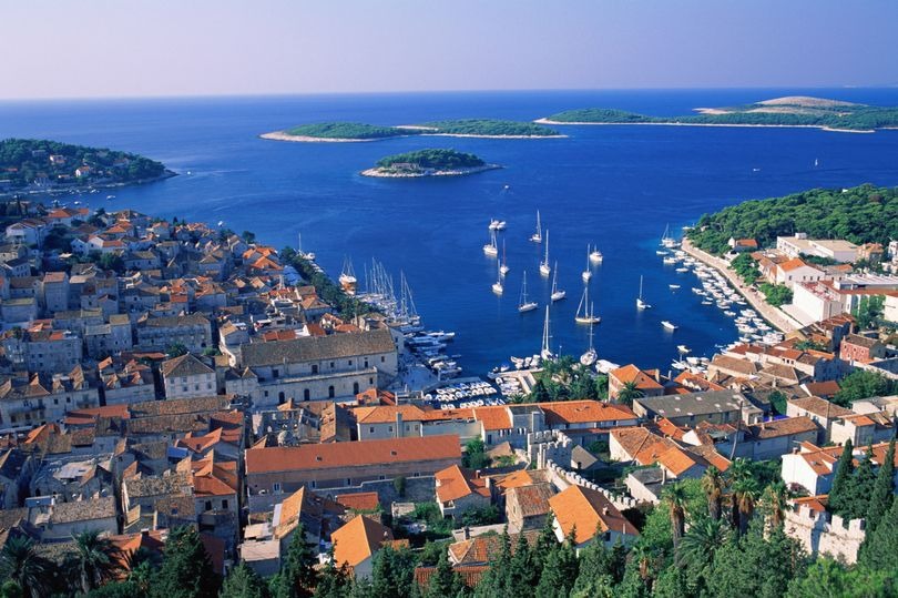 Hvar, Croatia, where reports say a 20-year-old girl died