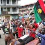 Sit-at-home: MASSOB mobilise residents, Security agencies in show of force,
