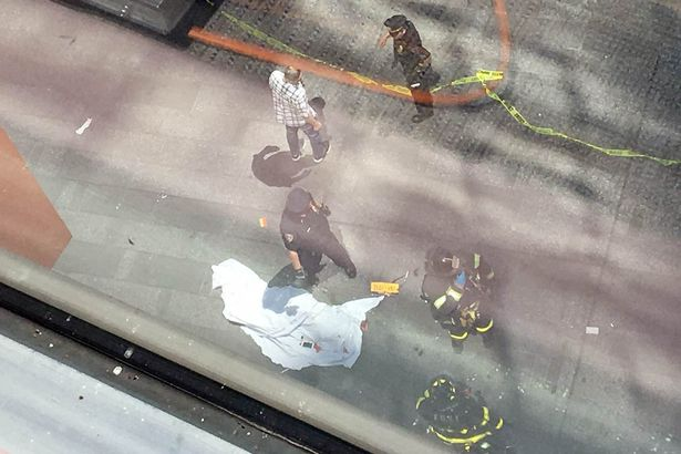 New York's Times Square Car Accident