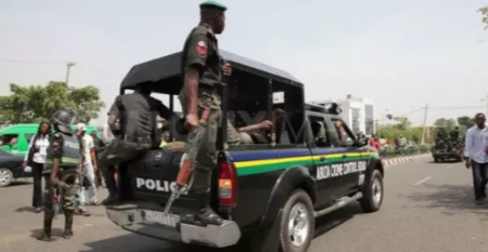 Nigerian Police arrests 13 year old boy with indian herm