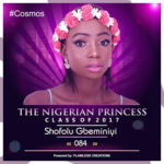 VOTE SHOFOLU GBEMINIYI IN THE NIGERIAN PRINCESS 2017
