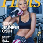 Cute Jennifer Oseh Exudes Confidence On The Latest Edition Of Hints Magazine