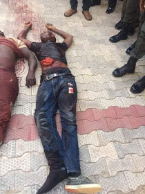 Nigeria police killed suspected kidnappers in Anambra (GRAPHIC PHOTOS)