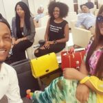 Wow!Omotola, Omoni Arrive India For AFDBAM2017 (SEE PHOTOS)