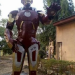 Photos: Nigerian Student Builds Replica Of Iron Man For His Final Year Project