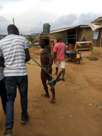 Photos: Man Stripped N3ked After He Was Caught Stealing From Church