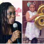 Big Brother Naija Bisola's Daughter Is Eight Today