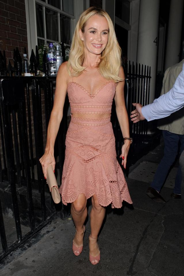Amanda Holden of Britain's Got Talent, NEARLY-NUDE Britain's Got Talent's Amanda Holden steps out in ANOTHER racy dress, Latest Nigeria News, Daily Devotionals & Celebrity Gossips - Chidispalace