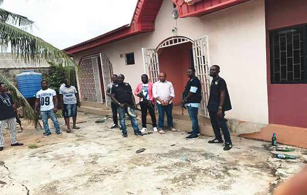 Evans, the Notorious Kidnapper leads police to two detention camps in Lagos