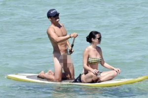 Katy Perry, Katy Perry finally reveals why she looks SO MISERABLE in those Orlando Bloom naked paddle boarding pictures, Latest Nigeria News, Daily Devotionals & Celebrity Gossips - Chidispalace