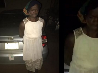 Viral Photos of Man who dresses like woman to steal cars